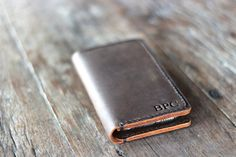 iPhone 6 Leather Wallet Case PERSONALIZED iPhone 6 by JooJoobs