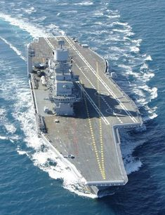 Aircraft Carrier INS Vikramaditya, Indian Navy (built as admiral gorshkov russian navy)