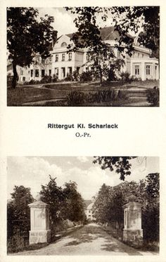 Klein Scharlack, Gutshof
