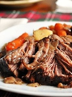 "Balsamic Pot Roast – Pinner says: ""hands down the best pot roast I've ever had and/or made!"""