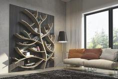 Baumregal - Baum Regal Regal in der Form eines Baumes. auf Wunsch individuialisierbar