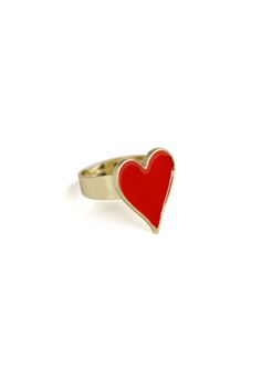 #Chicwish Playing Card Ring - Accessory - Retro, Indie and Unique Fashion
