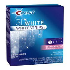 Crest 3D White Gentle Routine Whitening Strips, 28-count Carton by Crest, http://www.amazon.com/dp/B00336EUU4/ref=cm_sw_r_pi_dp_7Y2fqb18KY8GN