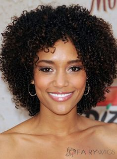 Kinky Curly Wigs For African American Women The Same As The Hairstyle In The Picture - Wigs For Black Women - Lace Front Wigs, Human Hair Wigs, African American Wigs, Short Wigs, Bob Wigs Black Curly Hair, Short Curly Hair, Curly Hair Styles, Natural Hair Styles, Curly Bob, Long Hair, Wavy Hair, Medium Curly, Short Bob Hairstyles