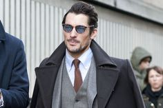 Want to get some of David Gandy's style? See all of his best looks, strongest outfits and most superb suits here