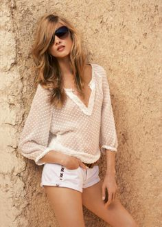 Spring/Summer 2012 Catalog by the Spanish brand Mango.
