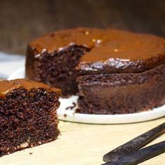 Moelleux au chocolat sans gluten et sans beurre, à base de courgettes
