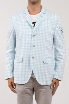 GIACCA LA MARTINA  Particolare giacca a quadri dalla vestibilità sia sportiva che elegante, logo ricamato sul braccio sinistro, 3 bottoni.  http://www.vienvioutlet.it/index.php/uomo/giacche/giacca-la-martina-365.html#sthash.SCaTXNEk.dpuf