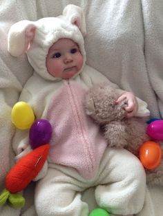Beckett Sterling the Easter Bunny