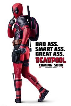 The Merc with a Mouth hasn't played it coyly during the promotional campaign for Deadpool, and he gets even cheekier in his latest poster. The new...