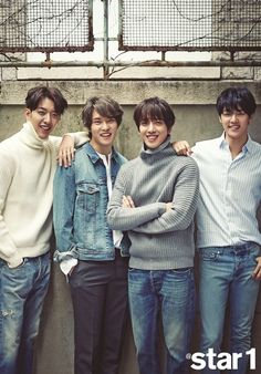 CNBLUE is Mature in Denim + Yonghwa Shares about Famous 'Ski Slope Selca' & His Physique! | Koogle TV