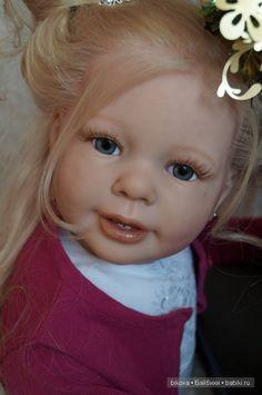 Добрый день Всем! Сегодня я хочу показать маленькую принцессу (выполненную на базе молда Katie-Marie от скульптора Ann Timmerman) Куколку реборн