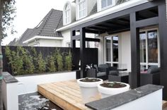 Pergolas For Sale At Costco Outdoor Rooms, Outdoor Gardens, Outdoor Living, Outdoor Decor, Garden Architecture, Modern Architecture, Porch Trellis, Wooden Terrace, Garden In The Woods