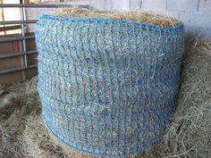 Filet à foin pour chevaux taille balle ronde