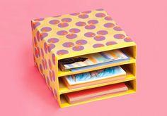 Como organizar a casa usando caixas