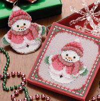 Snowman Cross Stitch-Free Pattern