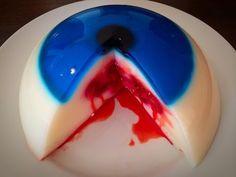bleeding Halloween monster eye Jello - YouTube