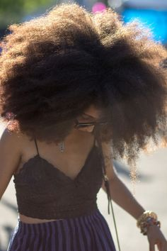 big hair crush!! one day I have to at least try this!