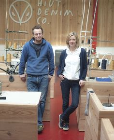 Hiut Denim Co: The jeans with the app that tells their history - Telegraph