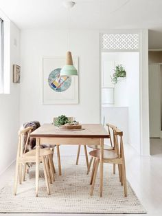 Scandinavian Dining Room Design: Ideas & Inspiration - Di Home Design Modern House Design, Modern Interior Design, Modern Decor, Interior Ideas, Minimalist Dining Room, Minimalist Decor, Contemporary Living, Australian Home Decor, Estilo Interior