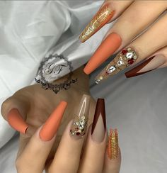131 Best Fall Nail Ideas images in 2019