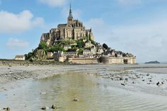 Want to visit here one day! Mont Saint-Michel