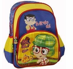"El Chavo NoNo Miralo Eh 16"" Large Boys School 3D Backpack Book bag Raised Image #ElChavo #BackpackBookBag"