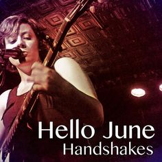 """It's single and ready to jingle, it's Hello June's new track """"Handshakes""""! Hello June, Track, Movie Posters, Movies, Films, Runway, Film Poster, Popcorn Posters, Truck"""