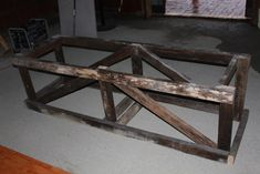The Recycled Barn Trestle Table – Seating for 14 | Old World Garden Farms