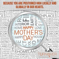 Happy Mothers Day... www.turnoverweb.com