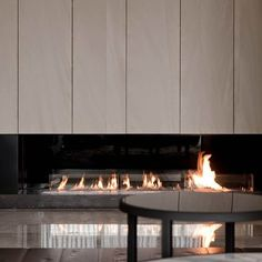 Contemporary Fireplace Ideas That Turn Up The Heat   Martha Stewart Living - Do you want to include a contemporary fireplace in your next home or upcoming renovation but don't know where to start?