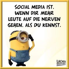 Lachen Macht Happy, My Minion, Life Goes On, Motivation, Haha, Humor, Cool Stuff, Sayings, Funny
