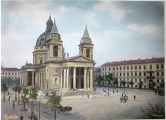 Warsaw Saint Alexander Church at the Three Crosses Square Classical Architecture, Bucharest, Beautiful Buildings, Old Pictures, Views Album, Barcelona Cathedral, Notre Dame, Poland, Taj Mahal
