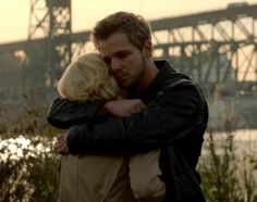 Bates Motel S2 finale.  Touching scene. Dylan and Norma.