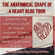 A Dream Within A Dream: The Anatomical Shape of a Heart Blog Tour: Guest Post + Giveaway
