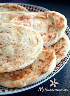 Comment faire des Meloui ou rghaif - Blog cuisine marocaine / orientale Ma Fleur d'Oranger / Cuisine du monde /Recettes simples et cratives