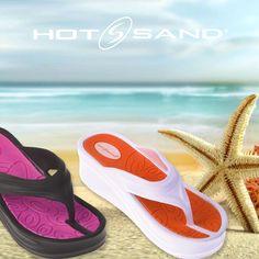 Sogni una giornata al mare? Infradito #Hotsand SS2016 { 62826 } #donna Wear #Hotsand flip-flops for woman!