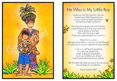 He Who is My Little Boy 8x10 Gifty Art