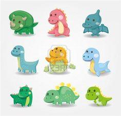 cartoon dinosaur ideas