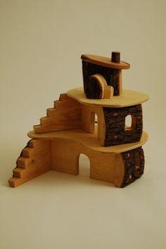 Magic Wood Toys Tree house/ Woodland Lodge | eBay