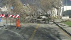 Maltempo a Pescara: forte vento, chiuse alcune zone della città - Attualità - Primo Piano