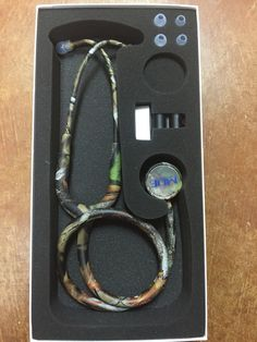 Probably wouldnt use it but it still looks awesome!! Camo stethoscope @avidarcher84 can customize