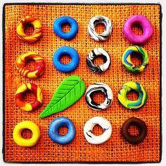 Multi color polymer Dread beads $8.00 Natural Hair Accessories, Natural Hair Styles, Dread Beads, Polymer Clay Projects, Dreads, Color, Polymer Clay Jewelry, Tutorials, Dreadlocks