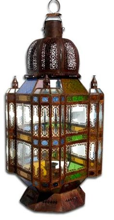Lighting fixtures - lamps at justmorocco