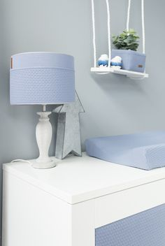 Baby's Only Lampenkap Cloud Indigo | Baby's Only Lamp | Baby & Trends