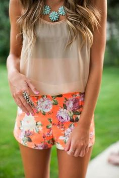Simple Summer Outfit Casual Style 2014