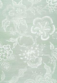 Hothouse Flowers Sisal Wallpaper   Celerie Kemble Wallpaper   Schumacher Wallpaper Australia