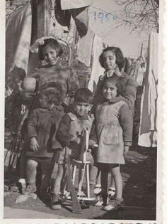 1950 Children of Argolis Peloponnese Greece Pictures, Old Pictures, Between Two Worlds, Yesterday And Today, Vintage Photos, Beautiful People, Childhood, Children, Greek