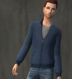 Mod The Sims - Plain Jackets for Adult Males