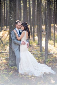 Forest Wedding - Corey & Dwight's Cypress Hills Wedding - Cristal King Photography